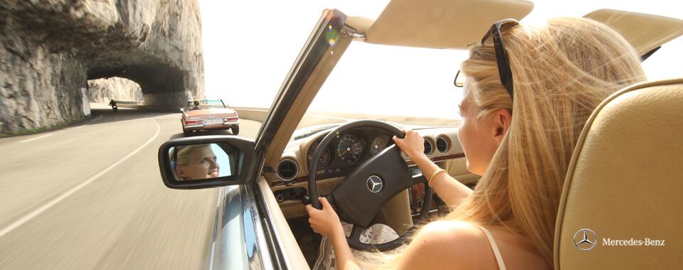 Slider 39 Mercedes-Benz 250SL 250 280 SL 300SL 300 Pagode Pagoda W107 107 | Nostalgic Oldtimerreisen