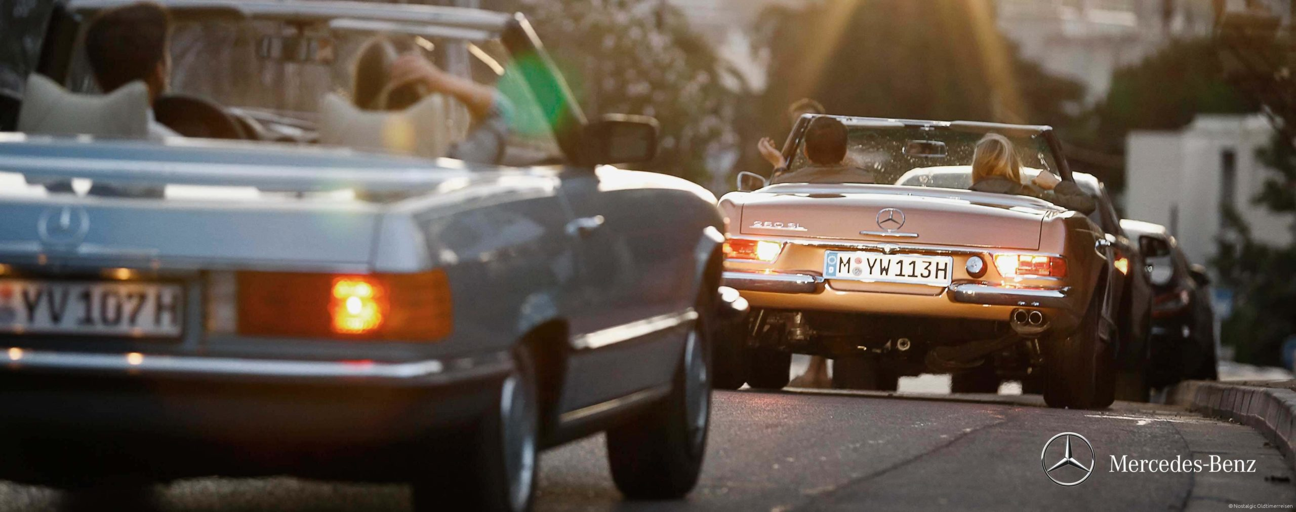 Mercedes-Benz SL| Nostalgic Oldtimerreisen
