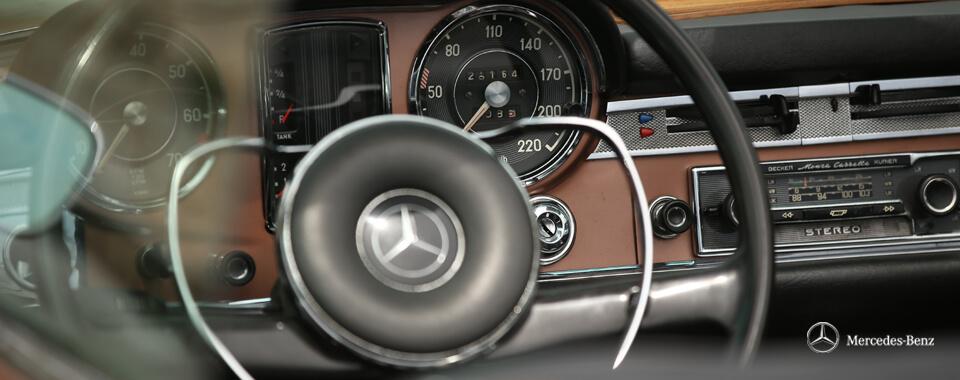 Slider 13 innen Zündschlüssel key Zündung Becker Radio Beckerradio Mercedes-Benz 250SL 250 280SL 280 SL Pagode Pagoda W113 113 bronze | Nostalgic Oldtimerreisen