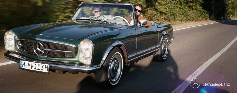 Mercedes-Benz Pagode W113|Nostalgic Oldtimerreisen