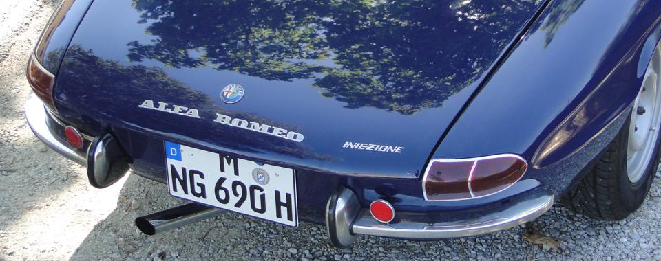 Alfa Romeo Duetto Rundheck Spider | Nostalgic Oldtimerreisen