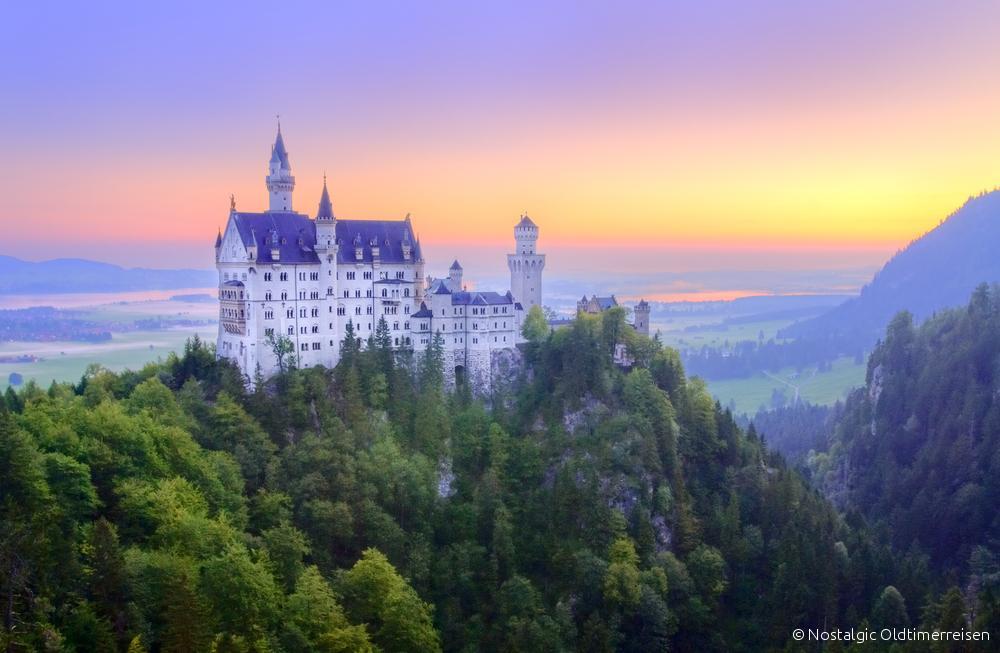 ...zum Schloss Neuschwanstein