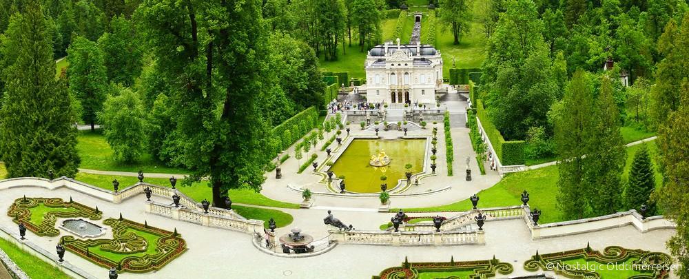 Schloss Linderhof | Nostalgic Oldtimerreisen