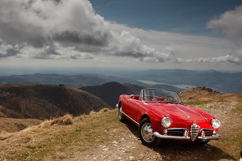 Lago Maggiore Alfa Romeo Giulietta Spider | Nostalgic Oldtimerreisen