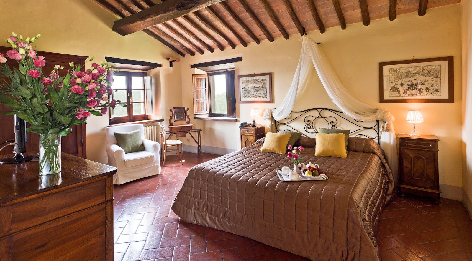 Hotel Borgo di Vescine Toskana | Nostalgic Oldtimerreisen