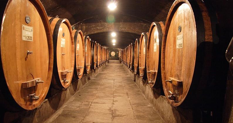 La cantina Weinkeller Wein Weingut Toskana tuscany | Nostalgic Oldtimerreisen