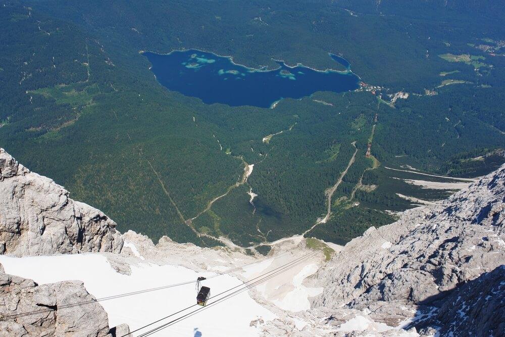 Zugspitze top of Germany Deutschland Bayern Oberbayern Berge Mountains Alpen Alps | Nostalgic Oldtimerreisen